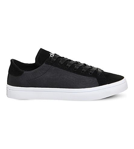 cheaper 95dc9 23087 ... ADIDAS Court vantage trainers (Core+black+white. PreviousNext