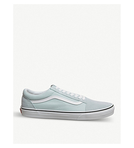 91914eb977 ... VANS Old Skool canvas trainer (Baby+blue+true+white. PreviousNext