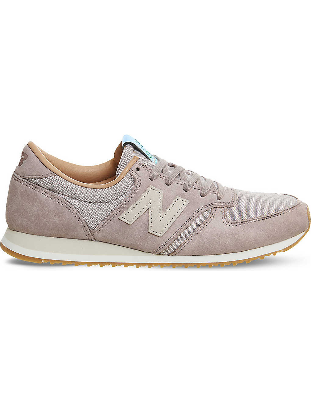 183bcbc0d8f58 NEW BALANCE - 420 low-top suede and leather trainers | Selfridges.com