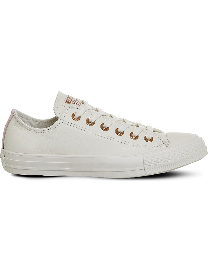 CONVERSE - Chuck taylor All Star low-top leather trainers ... 163853f2668
