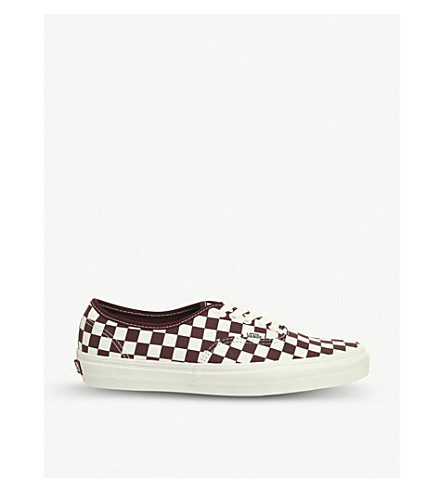 ... VANS Authentic checkerboard canvas trainers (Royale+marshmellow.  PreviousNext fcc399e8a