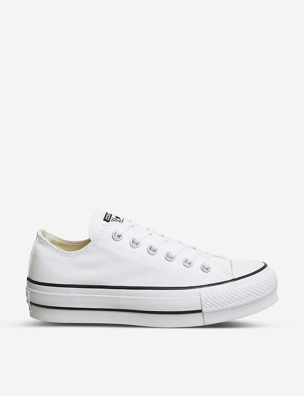 eabe352f6ec9 CONVERSE - All Star Low Platform canvas trainers