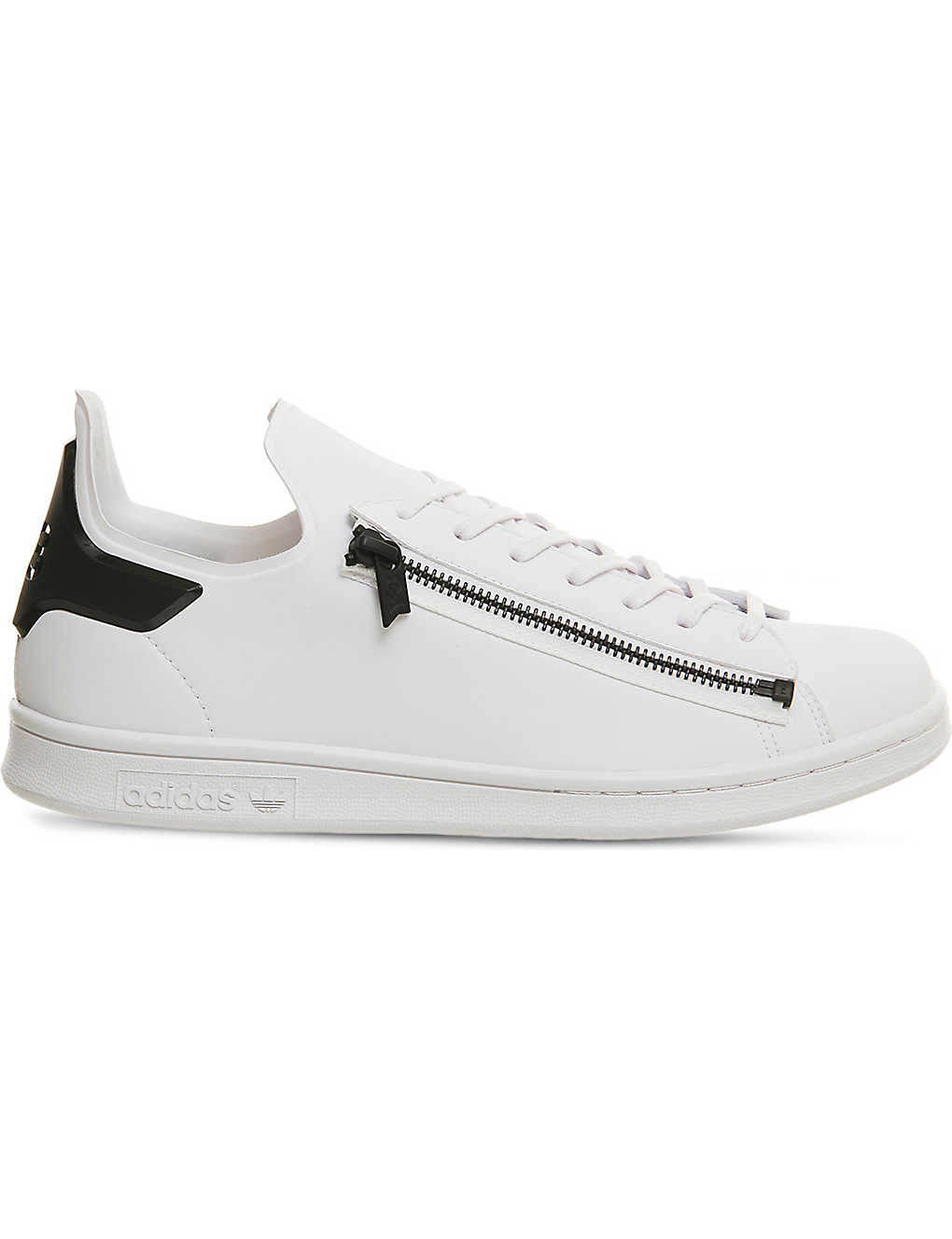 f82044ed7470 ADIDAS Y3 - Stan Zip leather trainers
