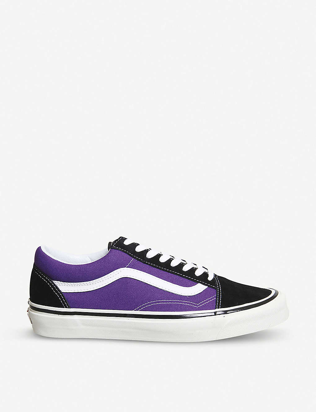 VANS - Old Skool 38 Dx suede and canvas trainers  5be17c901