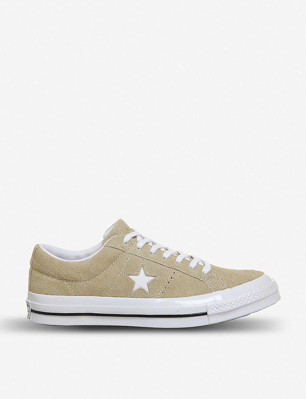 500ff3fa15d9 CONVERSE - One Star suede low-top trainers