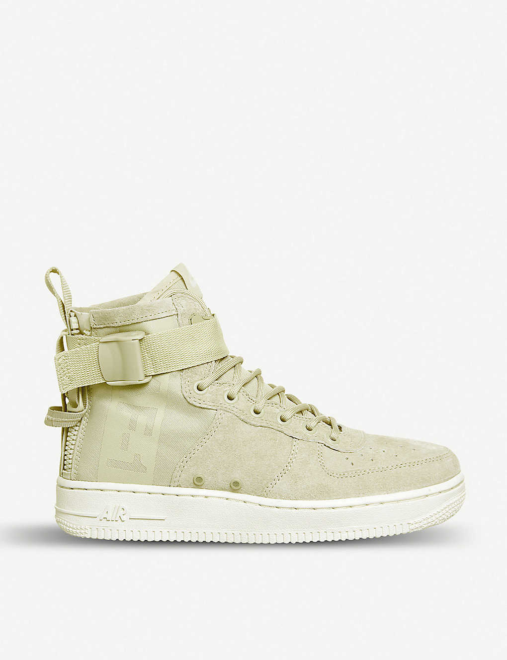 e2662b300fe8ea NIKE - Air Force 1 mid-top canvas trainers