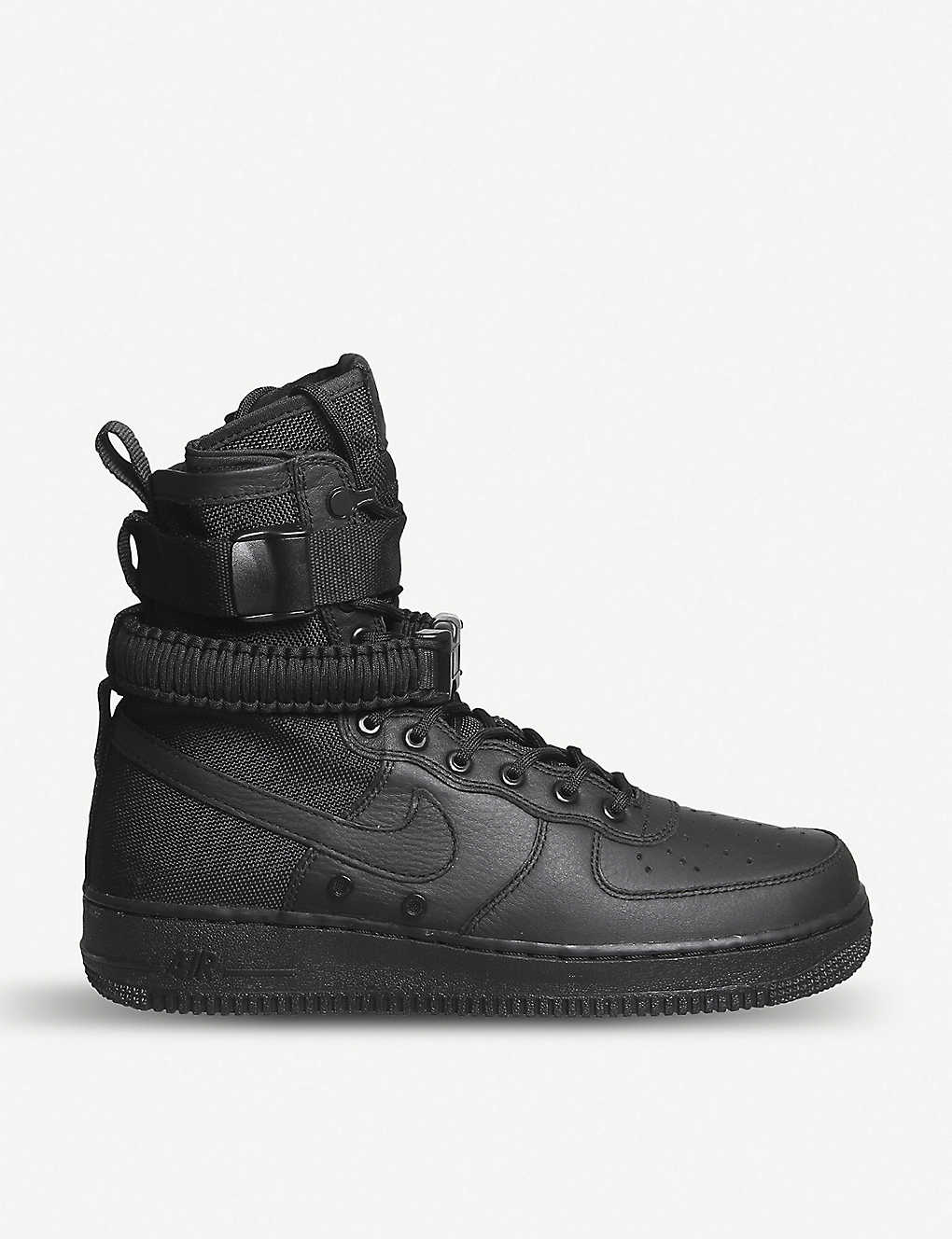 df8ff47239a87b NIKE - SF Air Force 1 leather high-top trainers