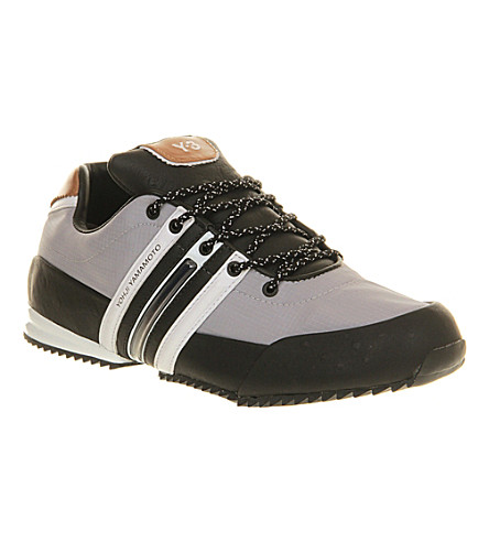 f2f9c1281361f3 ADIDAS Y3 - Y3 Sprint leather trainers