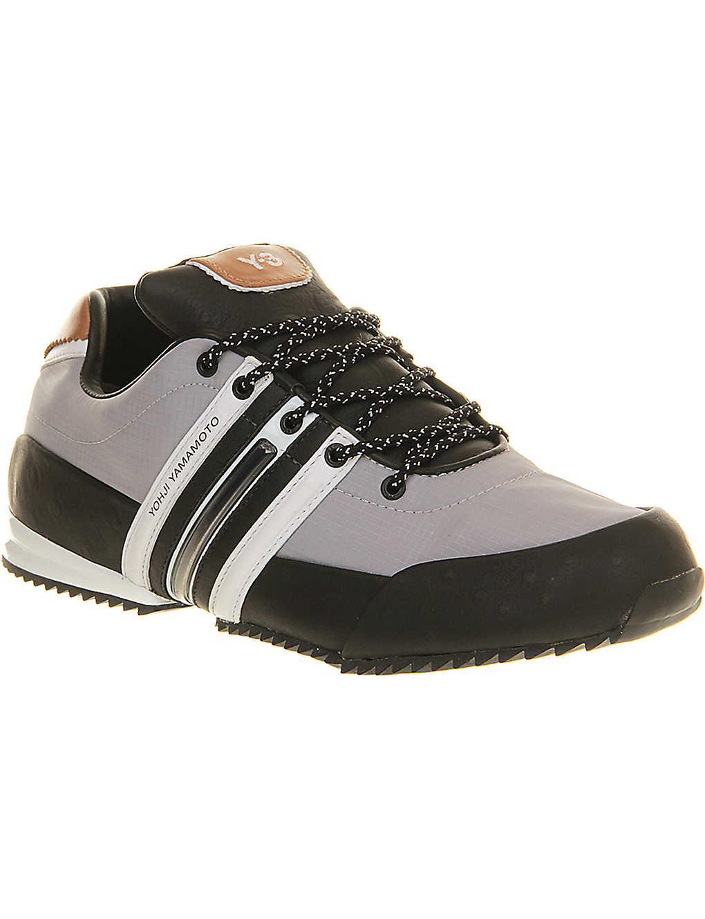 71908c2d1e5d4c ADIDAS Y3 - Y3 Sprint leather trainers