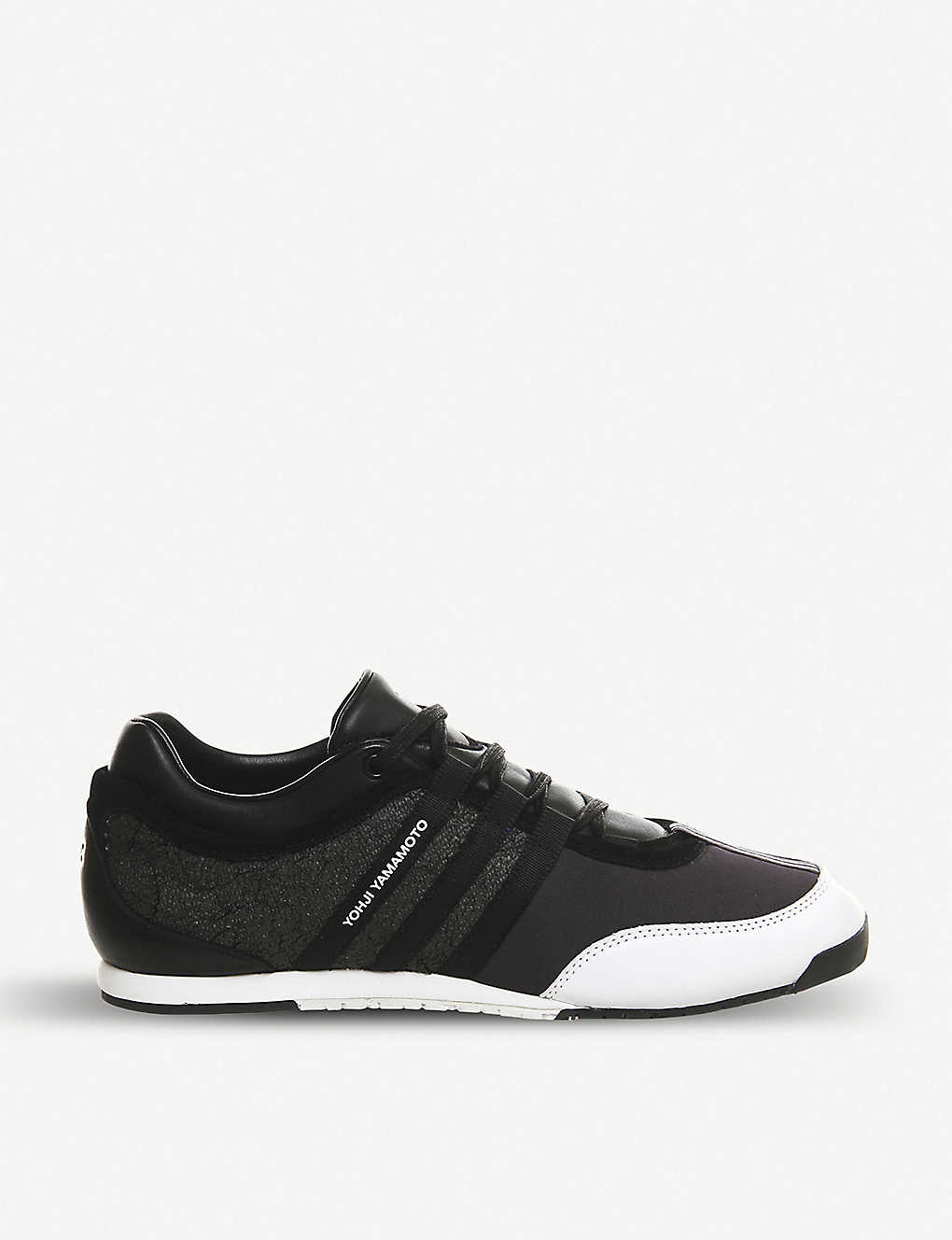 191a5b6874d5 ADIDAS Y3 - Y3 Boxing leather sneakers