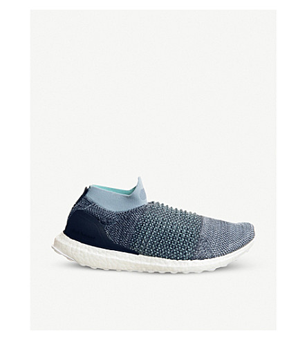 f1d37b5c004a ... ADIDAS UltraBoost laceless Parley shoes (Parley+raw+grey. PreviousNext
