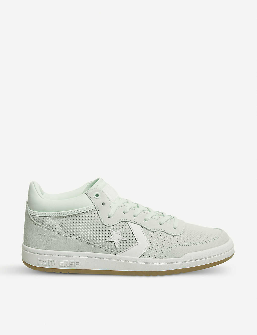 a5cfba91835ddf CONVERSE - Fastbreak Mid suede and mesh trainers