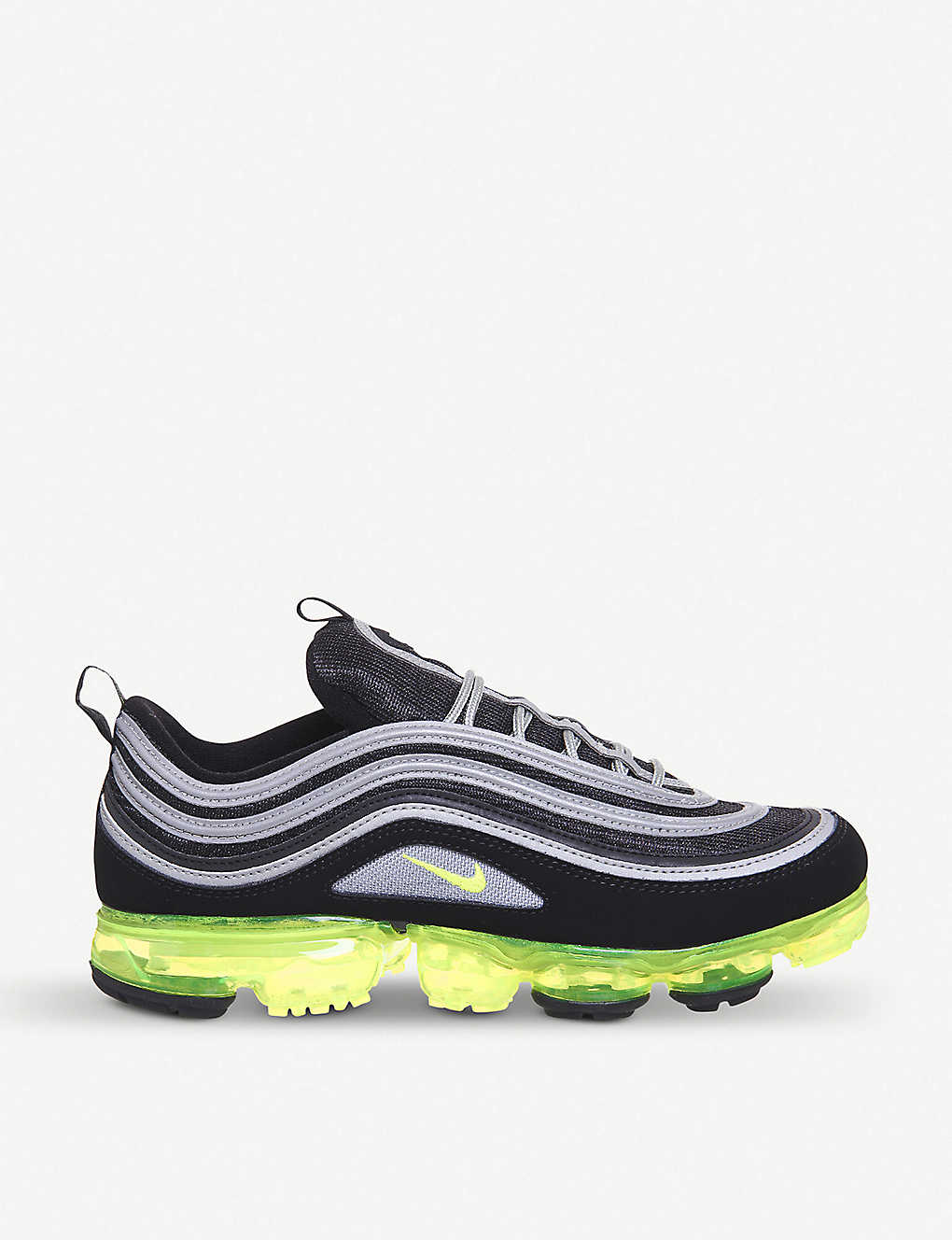 a6cfb6beba0b NIKE - Air Vapormax 97 leather and mesh trainers
