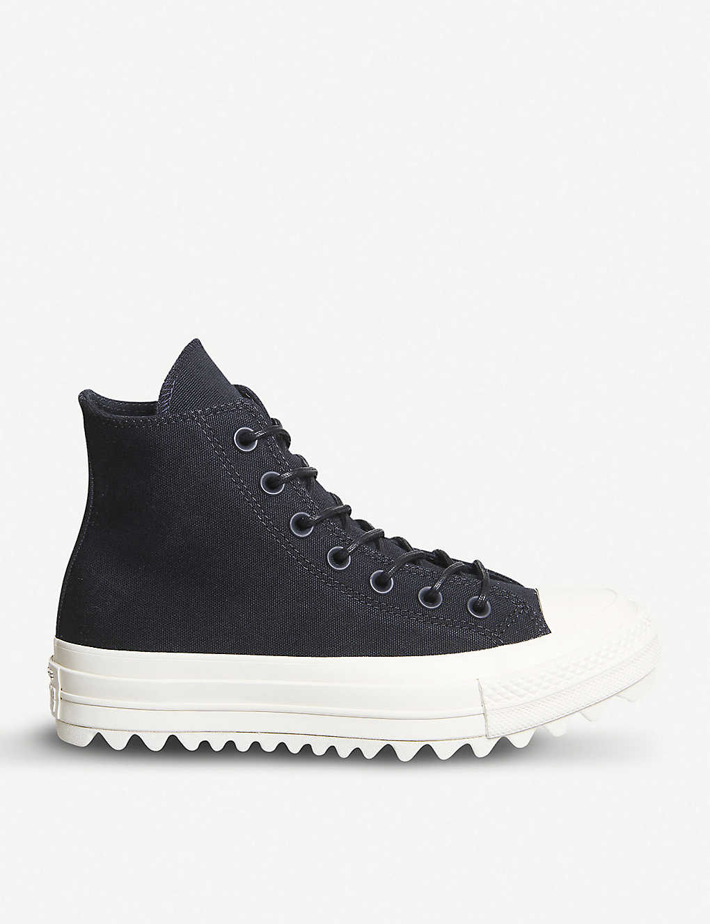 118066e5207 CONVERSE - Chuck Taylor All Star Lift Ripple canvas high-top ...