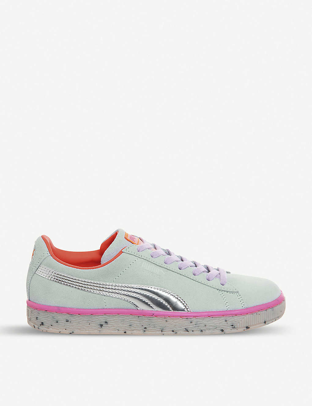 affd9d0c13c PUMA - Puma x Sophia Webster Candy Princess suede trainers ...