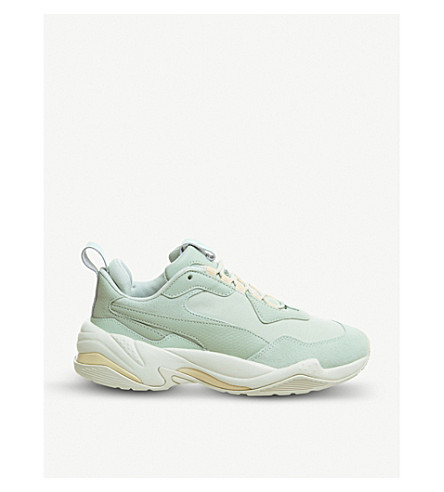 PUMA - Thunder Desert leather trainers  0e951e7d8