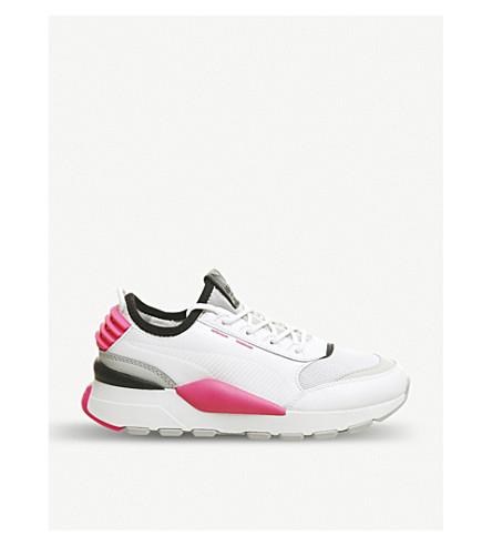 ... PUMA RS-O Sound leather trainers (White+grey+pink. PreviousNext 50b9b7e28