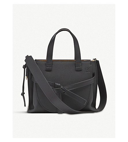 76739f970a3a LOEWE - Gate top-handle small leather tote bag