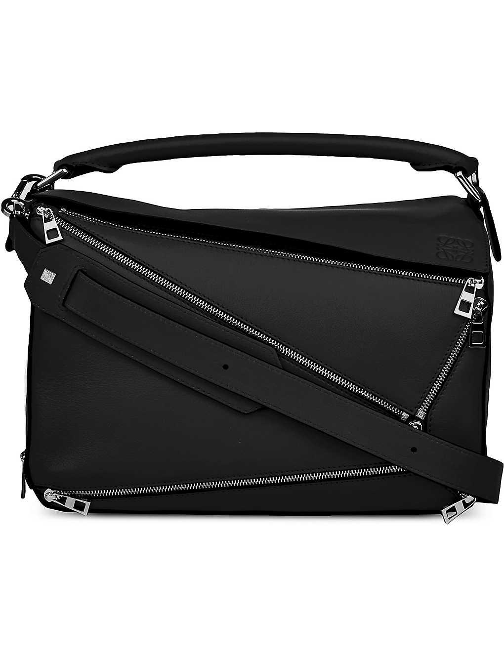 145adbeb7220 LOEWE - Puzzle zipper-detail leather multi-function bag