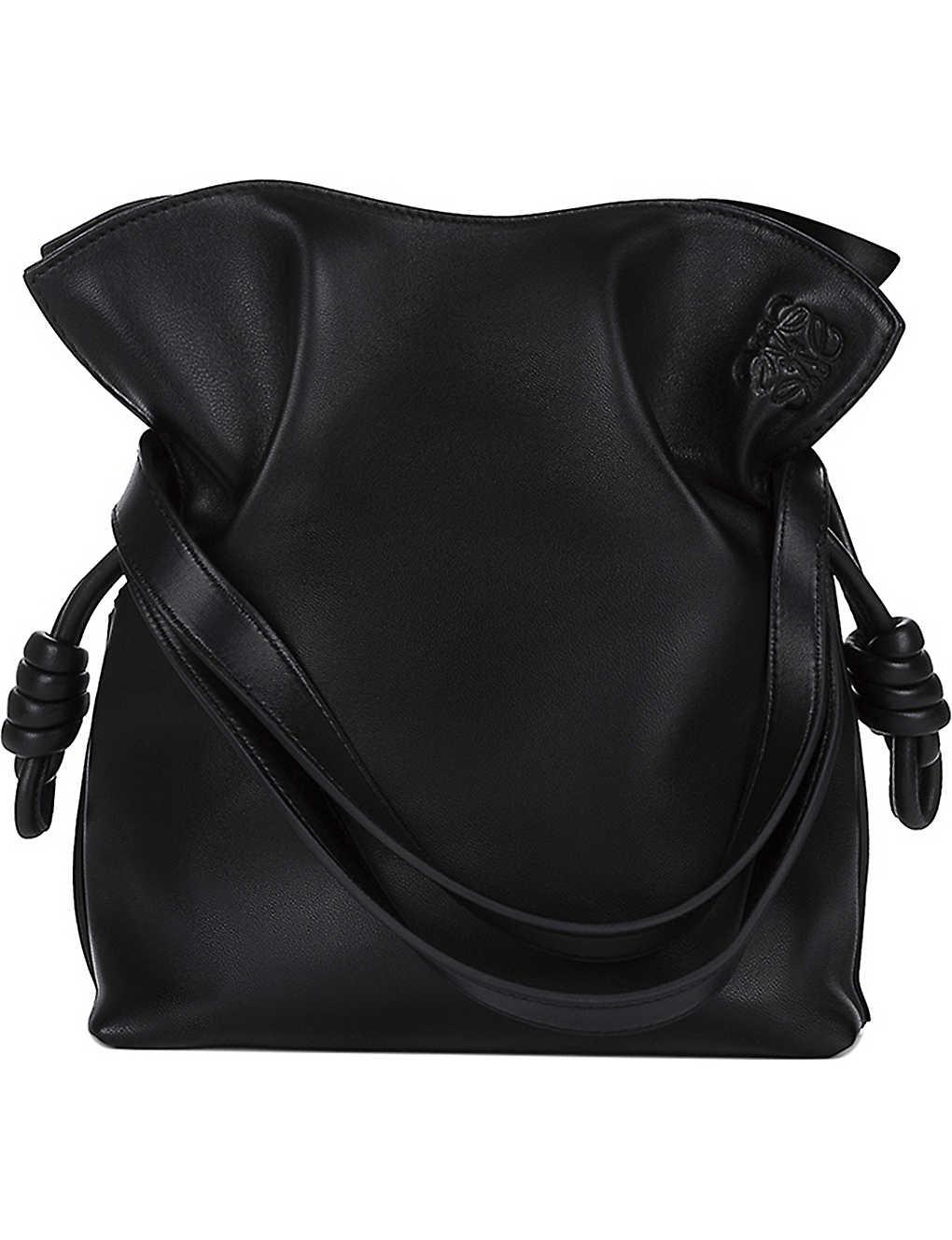 54a607a28b97 LOEWE - Flamenco knot small leather bag