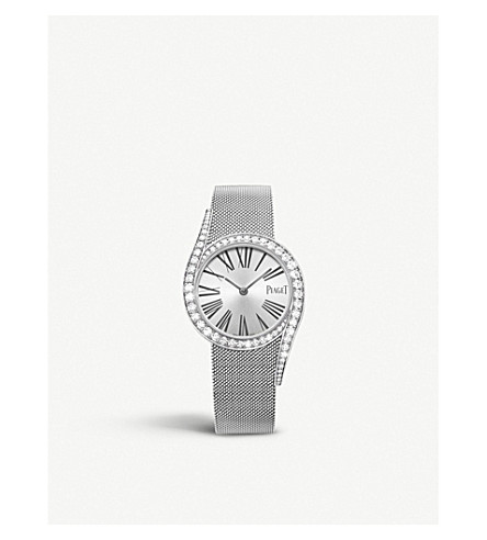c676a7c01db PIAGET - Limelight Gala 18ct White Gold and diamond bracelet watch ...
