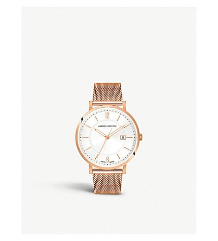 855bbb797321 LARSSON   JENNINGS - Opera rose-gold plated watch