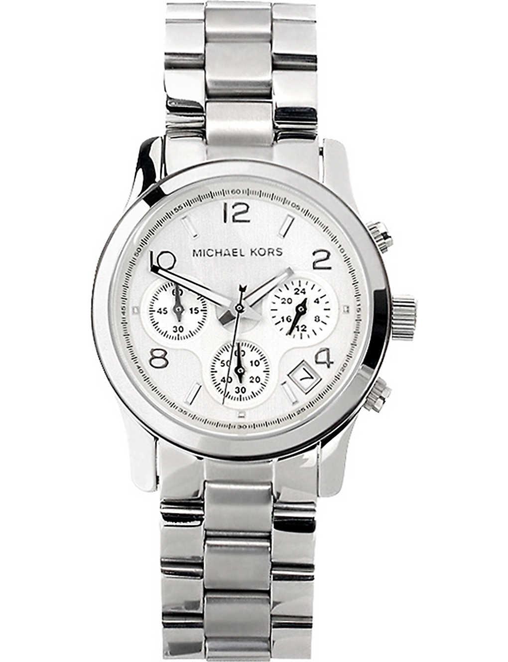 8ecb85da771 MICHAEL KORS - MK5076 Runway stainless steel watch