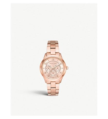 acadae9619b2 ... MICHAEL KORS MK5428 Runway stainless steel watch. PreviousNext