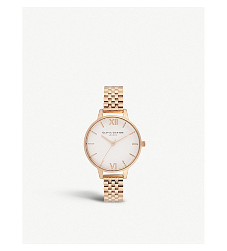 OLIVIA BURTON - OB16DEW01 Demi Dial rose gold-plated watch ... 670699ee3
