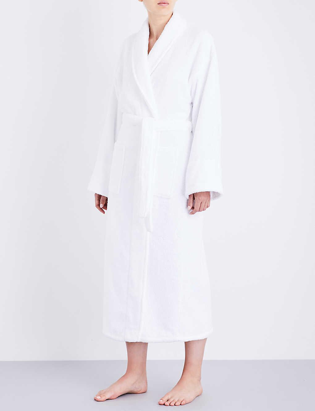 THE WHITE COMPANY - Classic cotton robe  8b24b9dd2