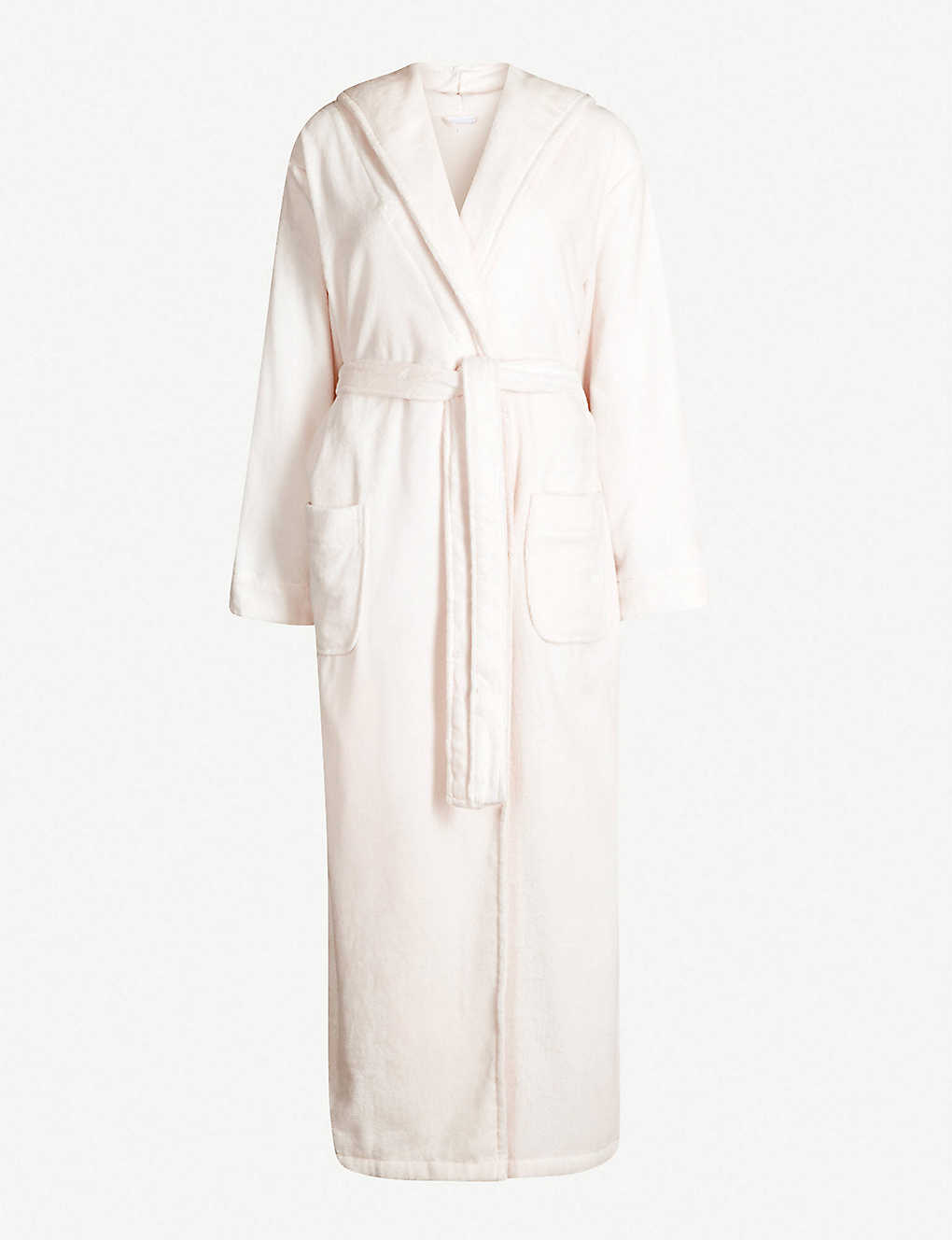 THE WHITE COMPANY - Hooded velour dressing gown  b6b937430