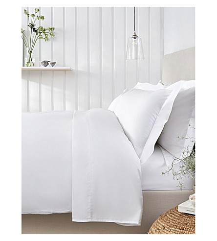 The White Company Essentials Egyptian Cotton King Size Duvet Cover