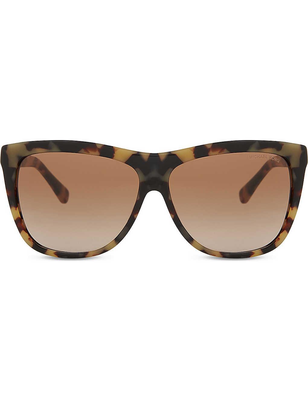 e442e156af MICHAEL KORS - MK6010 Benidorm 301313 vintage tortoiseshell square ...