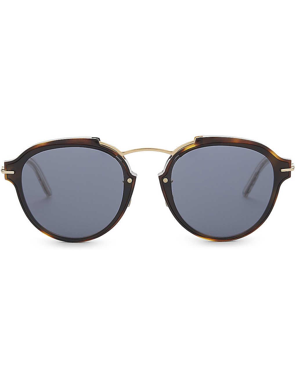 8eea953ecef DIOR - Eclat oval sunglasses