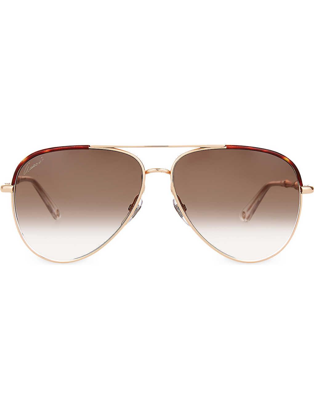 9f1e2f3be3b GUCCI - Gg4276 aviator sunglasses