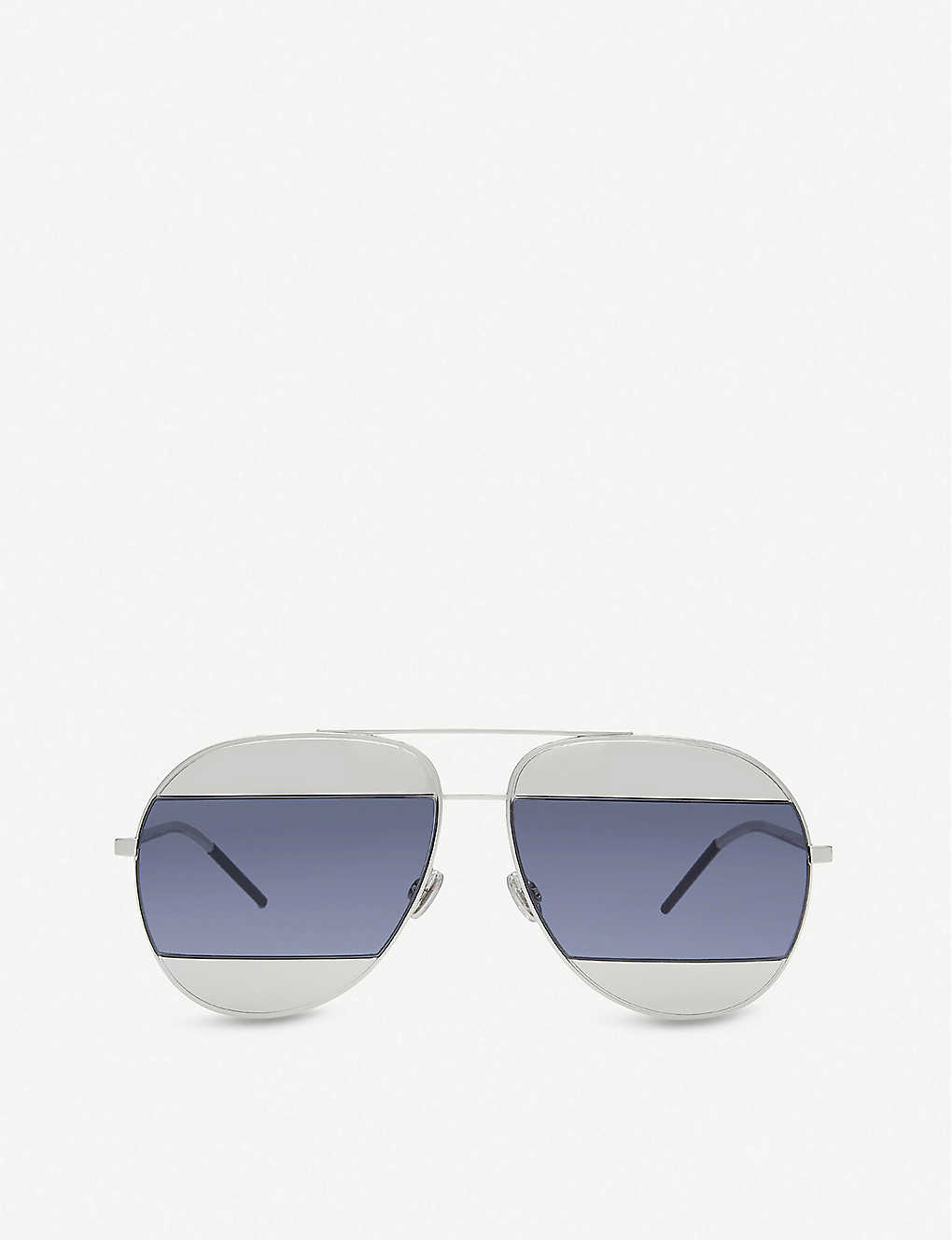 565d286fb7 DIOR - Split aviator sunglasses