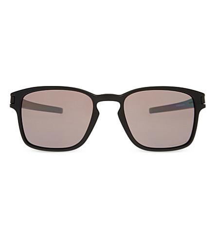 b5ee724f48 ... OAKLEY OO9353 Latch square-frame sunglasses (Matte+black. PreviousNext