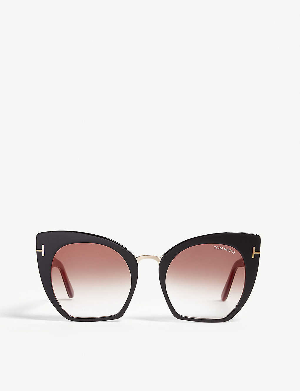 be6ade67323f7 TOM FORD - Samantha-02 TF553 cat-eye-frame sunglasses