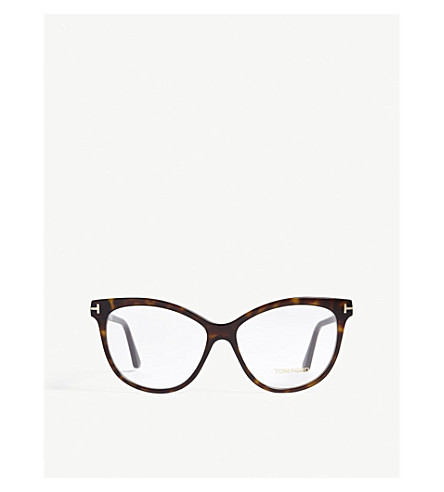 9d0e69a8cd ... TOM FORD Havana Tf5511 butterfly-frame optical glasses (Brown.  PreviousNext