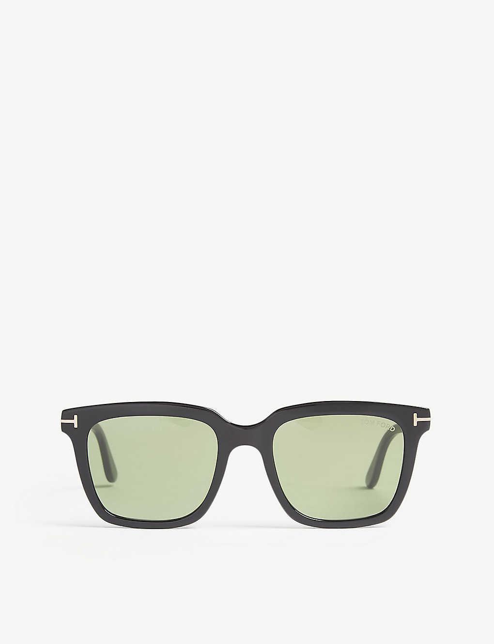 170d6072f8e TOM FORD - Marco angular-frame sunglasses