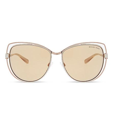 62ac932c24c ... MICHAEL KORS MK1013 Audrina I cat eye-frame sunglasses (Silver.  PreviousNext