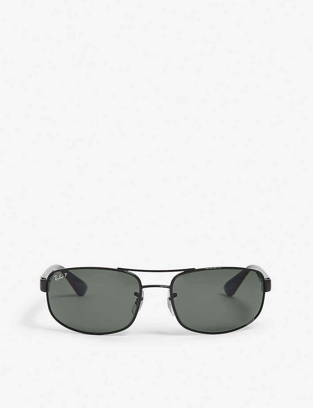 8d282bbe617db RAY-BAN - Aviator rectangle sunglasses   Selfridges.com