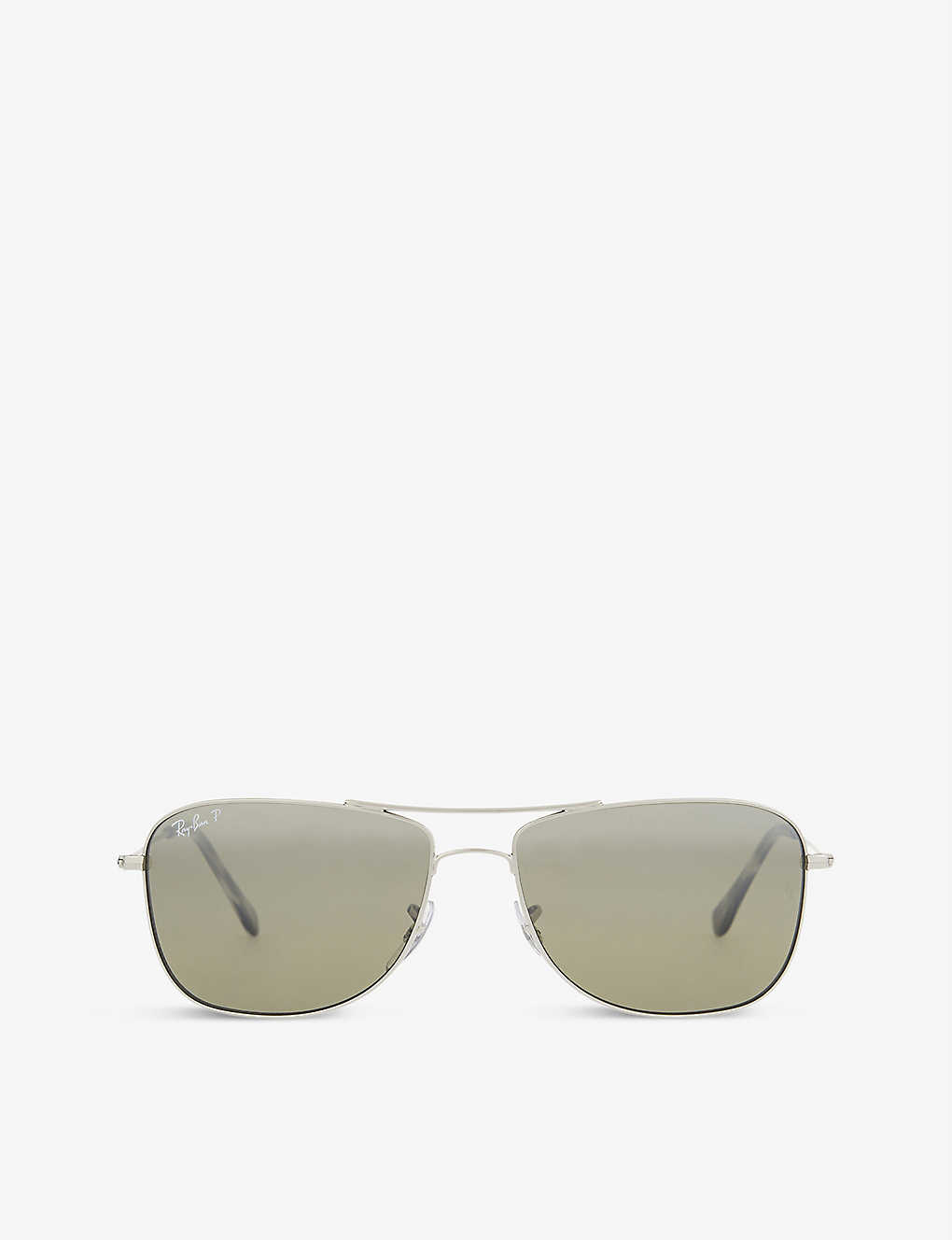 c751db0e90 RAY-BAN - Rb3542 chromance rectangle-frame sunglasses