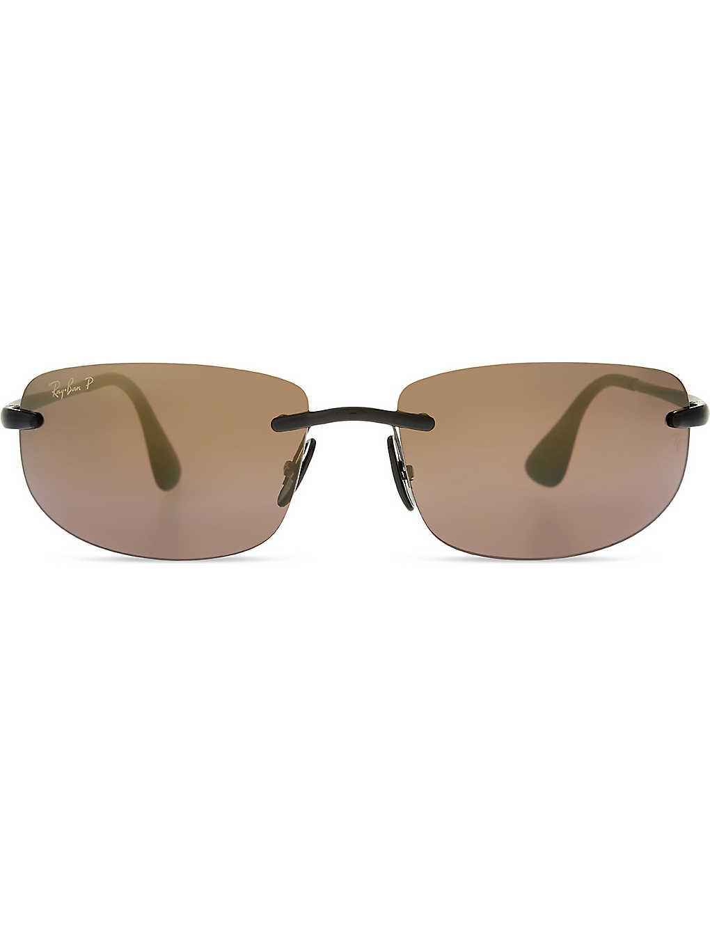 9d89c589cf RAY-BAN - Rb4254 chromance rectangle-frame sunglasses