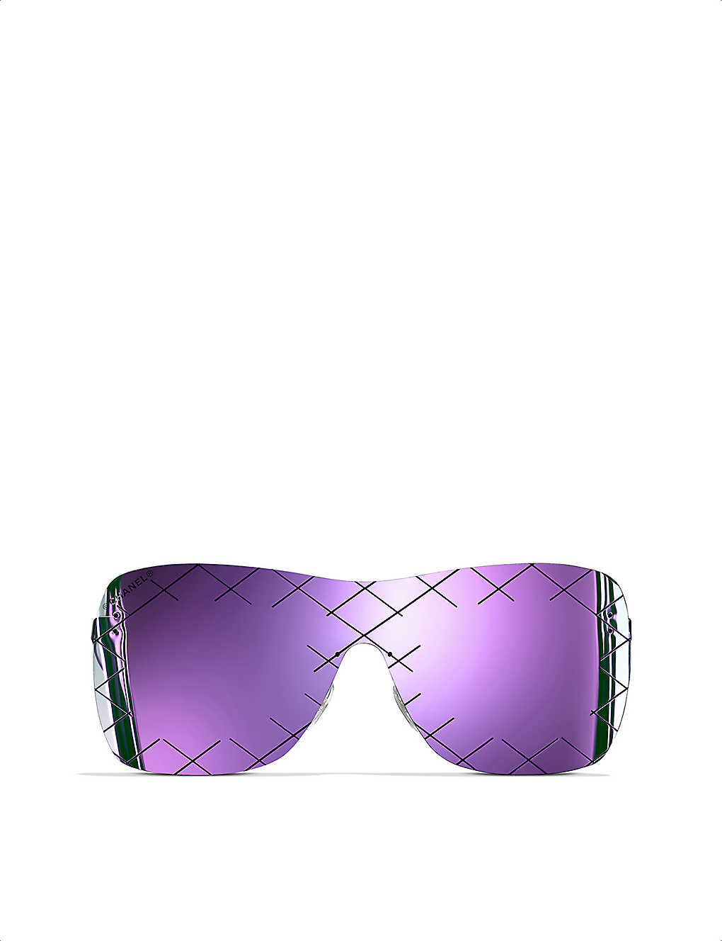 d95f8639986 CHANEL - Shield sunglasses