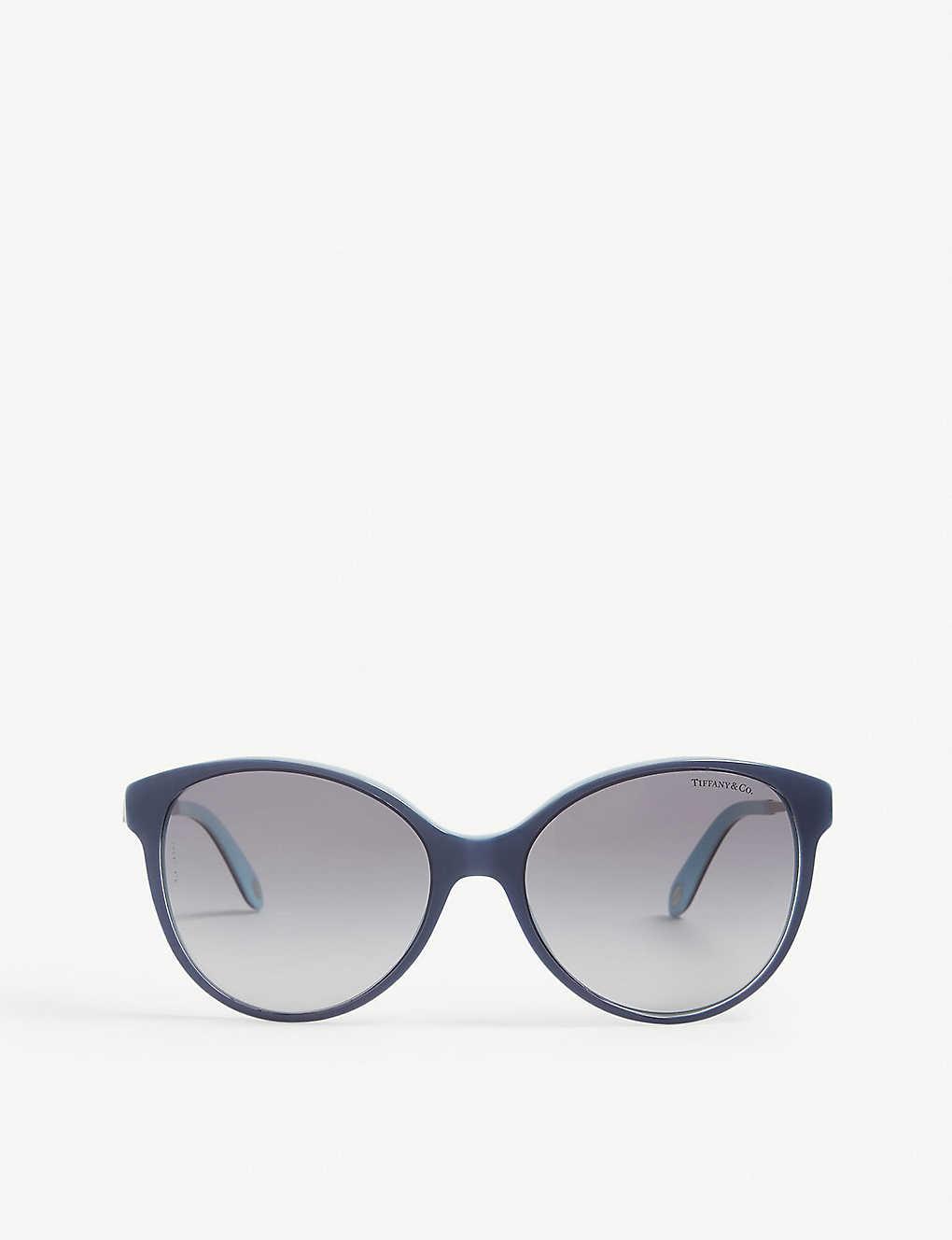 c1dbad6d365 TIFFANY   CO - Tf4127 round-frame sunglasses
