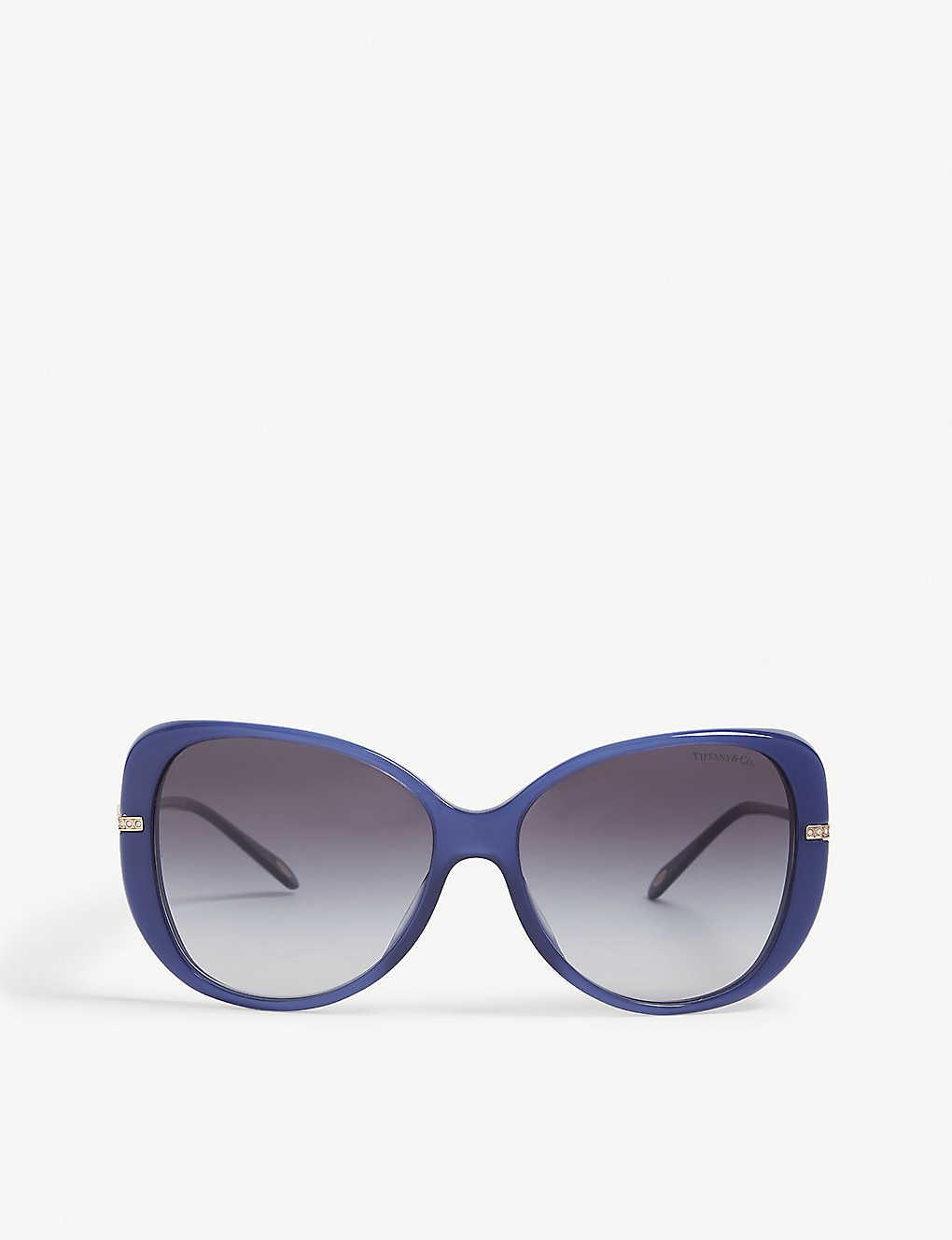900191680b6 TIFFANY   CO - Tf4126 butterfly-frame sunglasses