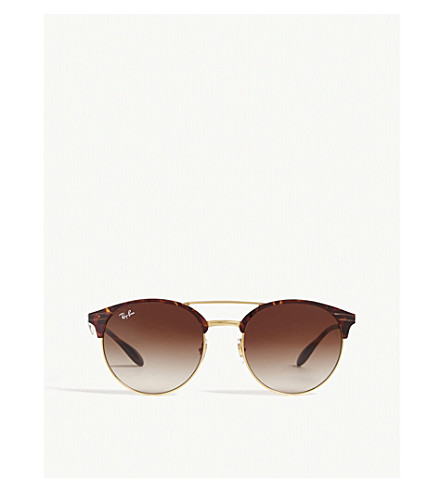 6b26fce3af RAY-BAN - RB3545 Havana phantos-frame sunglasses