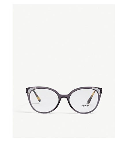 25317095a9 PRADA - PR12UV oval glasses