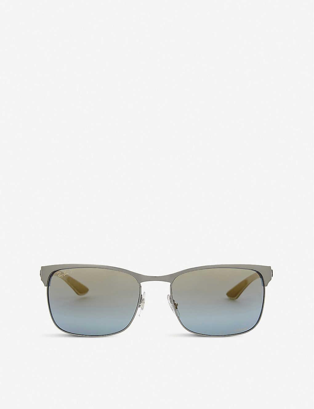 2fd4ab2c3b5 RAY-BAN - Rb8319 Chromance rectangle-frame sunglasses